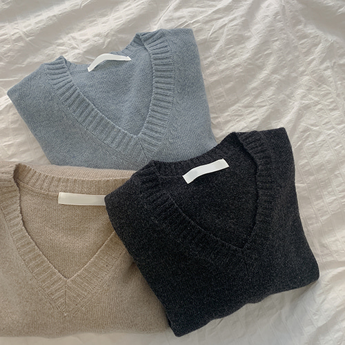 [made] racos knit (3color)