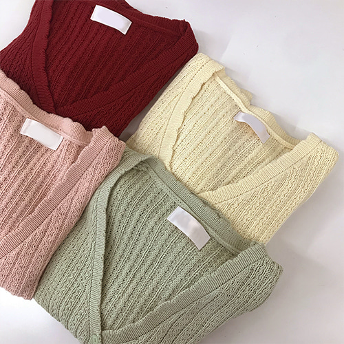 모노썸 cardigan (4color)