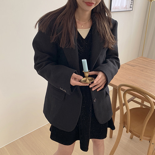 초코울 coat (3color)