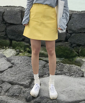 플러스 skirt (4color)