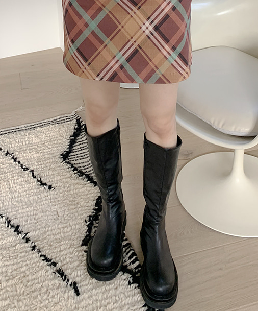 카힐 long boots (2color)